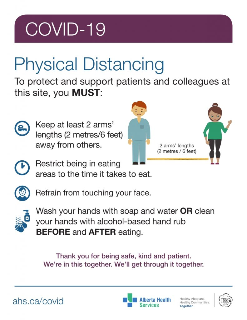 COVID-19 Physical Distancing Guideline